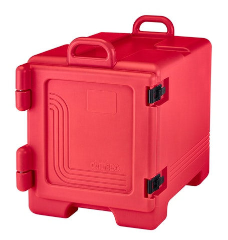 UPC300158 Hot Red Front Loader Insulated Carrier