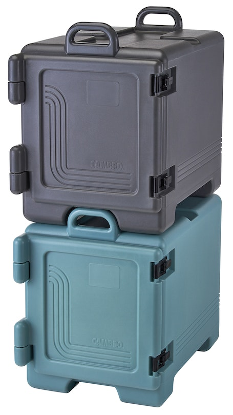 UPC300615 Charcoal Gray & Slate Blue Front Loader Insulated Carriers