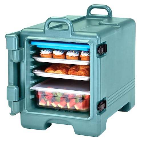 1318CC401 Slate Blue Non-Electric Combo Camcarrier w/ Food Pans
