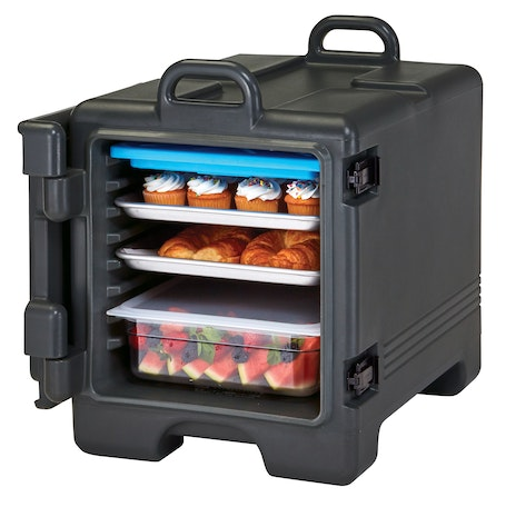 1318CC110 Black Non-Electric Combo Camcarrier w/ Food Pans