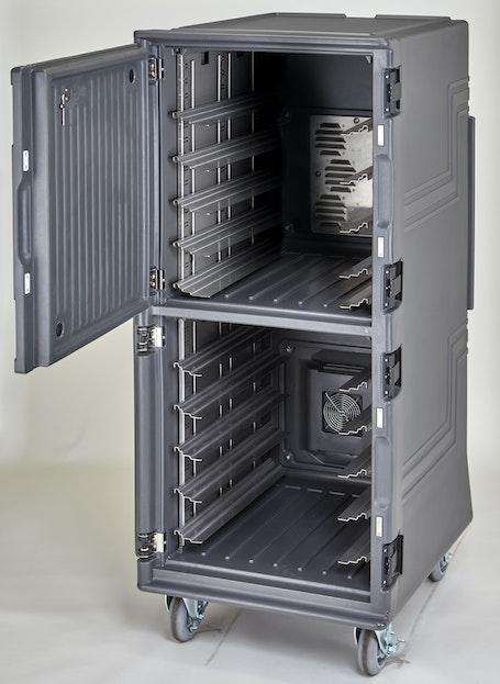 PCUHC2615 Charcoal Gray Tall Pro Cart Ultra - Empty Hot/Cold