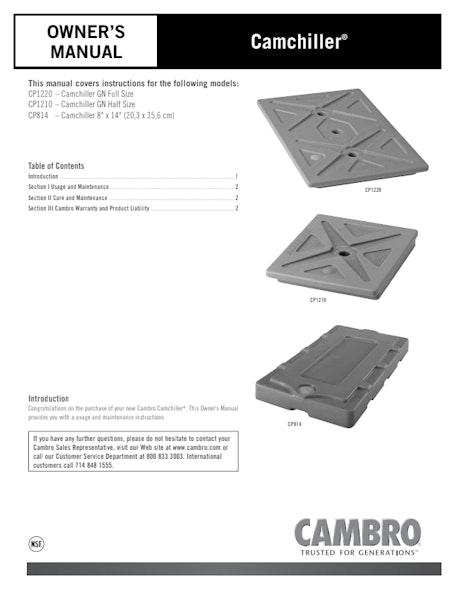 Camchiller User Manual
