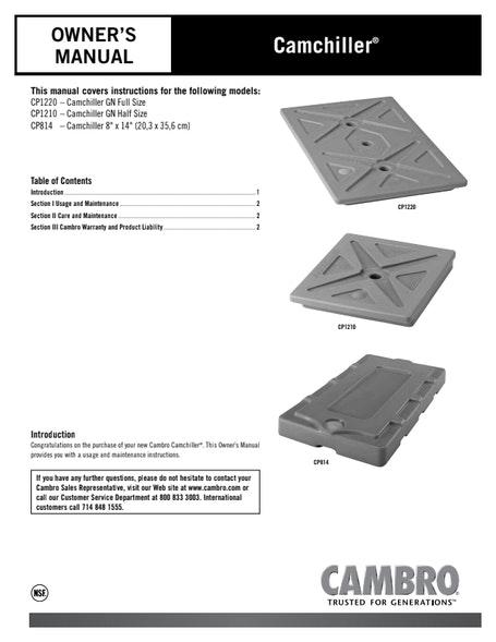 User Manual - Camchiller