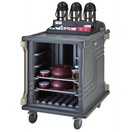 10 Tray Dual Access Room Service Cart