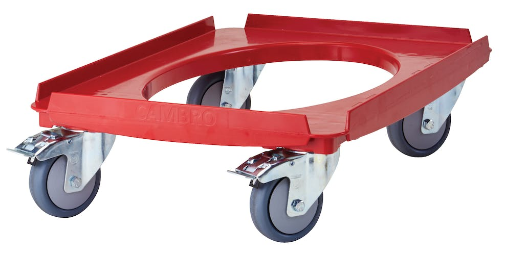 CD3253EPP158 Camdolly® For EPP Front and Top Loaders Hot Red