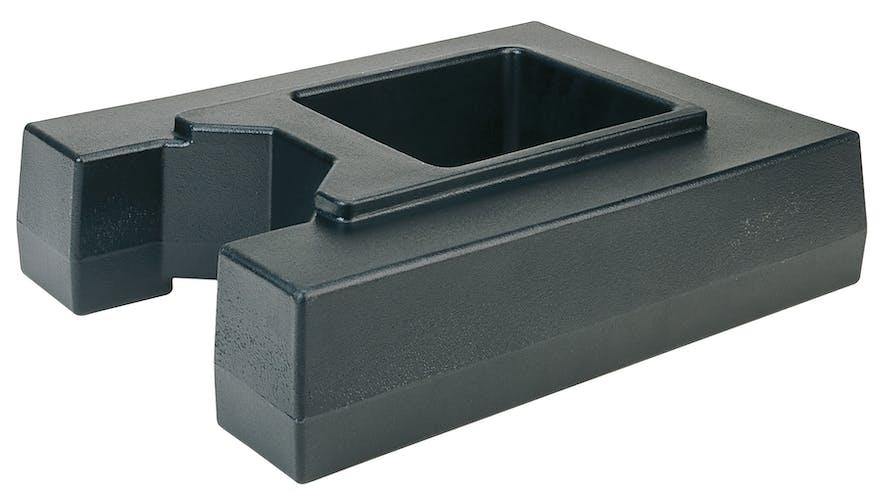 R1000LCD110 Camtainer® Riser for 10 Gallon Black