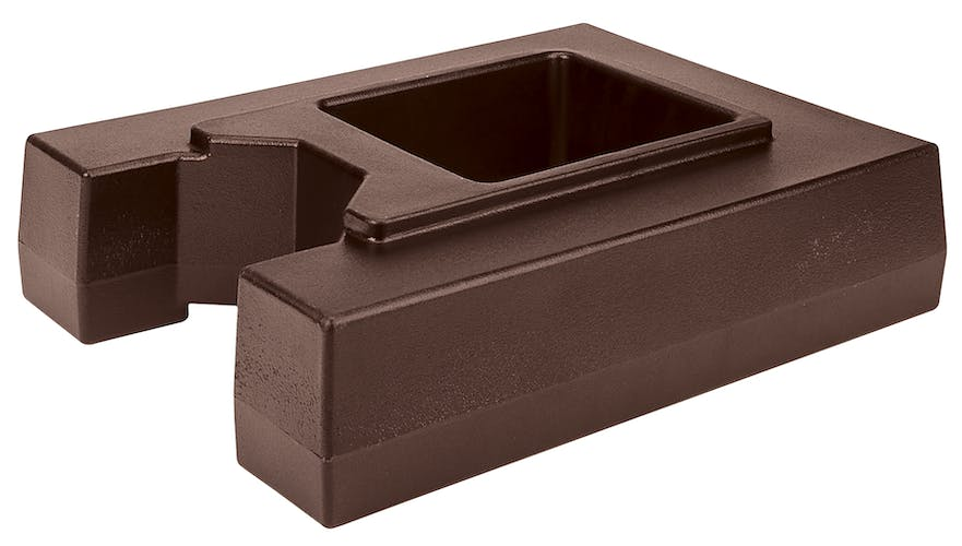 R1000LCD131 Camtainer® Riser for 10 Gallon Dark Brown