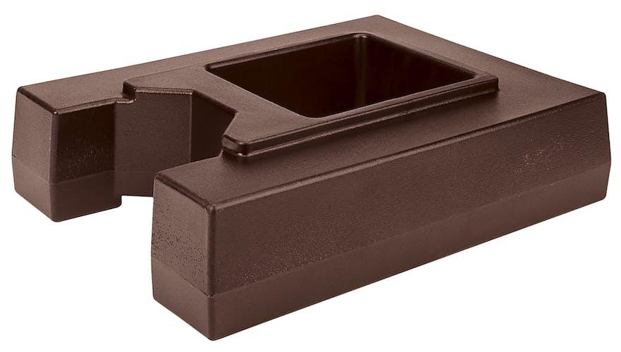 R1000LCD131 Camtainer® Riser for 10 Gallon Dark Brown