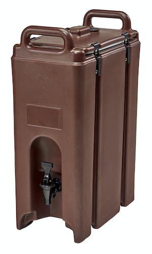 500LCD131 Camtainer® 5 Gallon Capacity Dark Brown