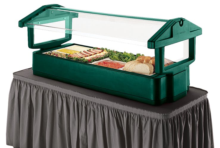 4FBRTT519 Kentucky Green Table Top Food Bar