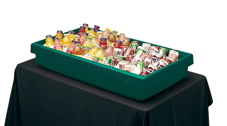 BUF48519 Kentucky Green Buffet Bar Base