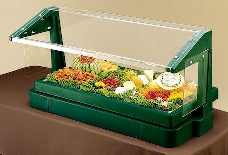 BBR480519 Table Top Kentucky Green Buffet Bar w/ Sneeze Guard