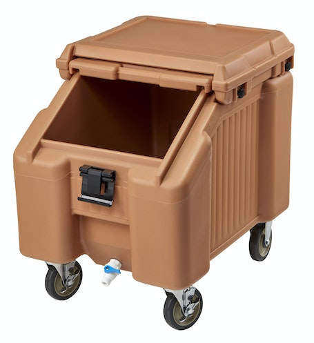 ICS100L157 Coffee Beige Ice Caddy 100 LBS