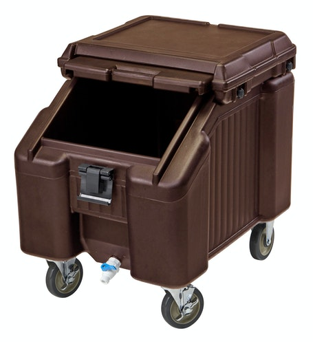 ICS100L131 Dark Brown Ice Caddy 100 LBS