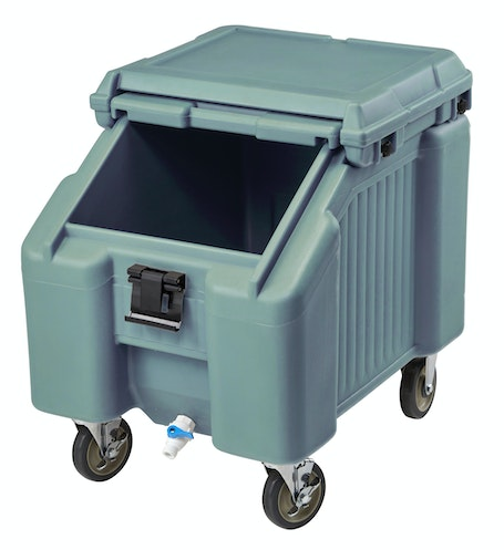 ICS100L401 Slate Blue Ice Caddy 100 LBS