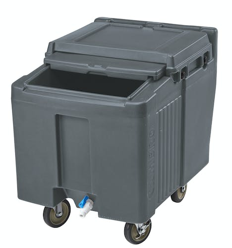 ICS125L191 Granite Gray Ice Caddy 125 LBS