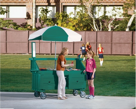 CVC724519 & CVC55110 Camcruiser Vending Carts w/ People