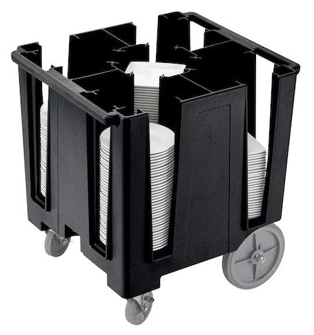 DCS950110 Black Versa 5-Column Dish Caddy