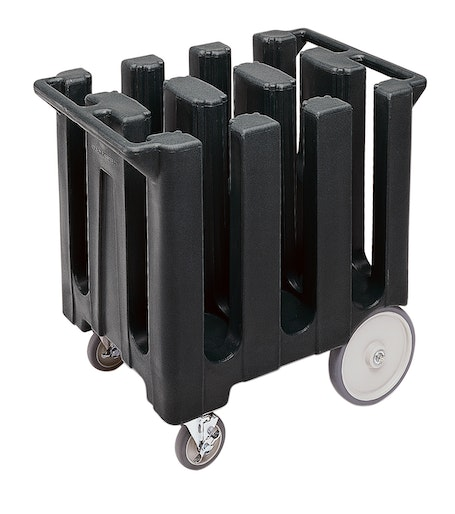 DC700110 Black Poker Chip Style Dish Caddy