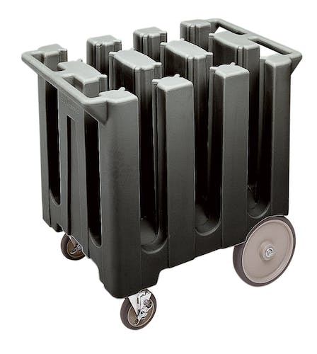 DC575110 Black Poker Chip Style Dish Caddy