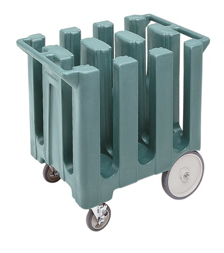 DC700401 Slate Blue Poker Chip Style Dish Caddy