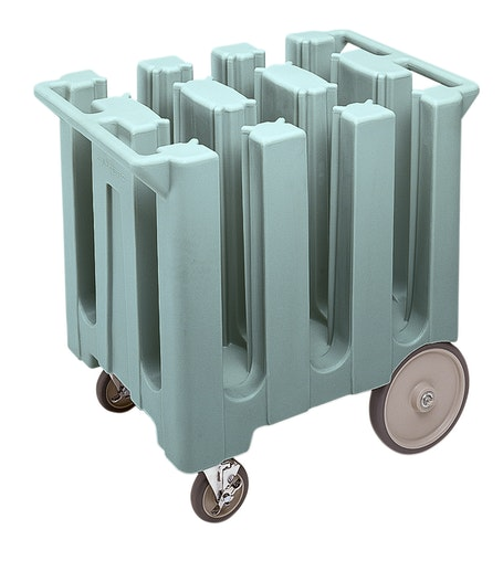 DC575401 Slate Blue Poker Chip Style Dish Caddy