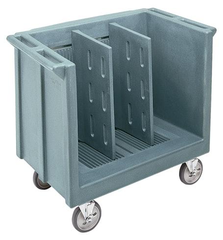TDC30401 Slate Blue Adjustable Tray & Dish Cart