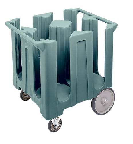 DC1225401 Slate Blue Poker Chip Style Dish Caddy