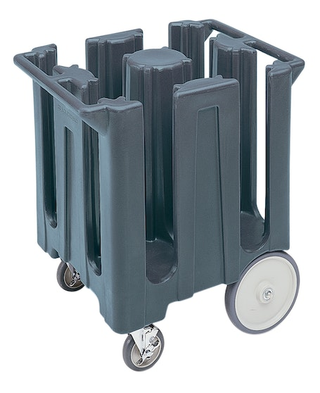 DC825191 Granite Gray Poker Chip Style Dish Caddy