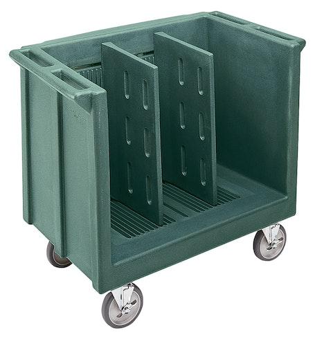 TDC30192 Granite Green Adjustable Tray & Dish Cart