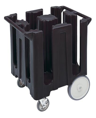 DC825110 Black Poker Chip Style Dish Caddy