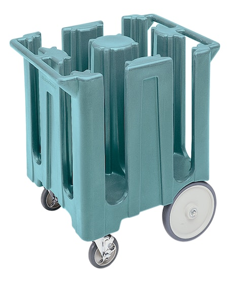 DC825401 Slate Blue Poker Chip Style Dish Caddy