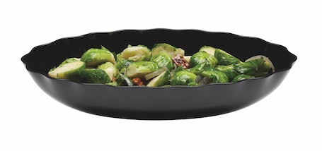 SFV1015110 Showfest 3 QT Scalloped Display Bowl w/ Sprouts