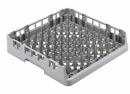 OETR314151 Soft Gray Open End Tray Rack