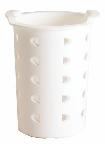 FWC56148 White Flatware Cylinder