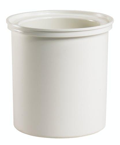 CFR18148 ColdFest White 1.7 QT Round Crock