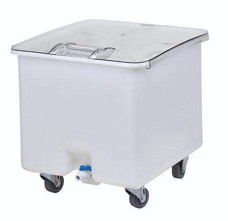 CC32148 Camcrisper White 32 Gal. Ingredient Bin