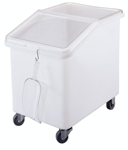 IBS37148 White 37 Gal. Ingredient Bin