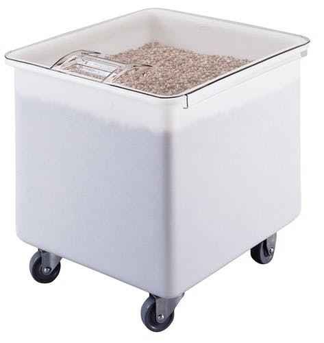 IB32148 White 32 Gal. Ingredient Bin