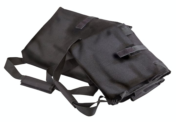 GBD121515110 Black Medium Folding Delivery Bag w Receipt