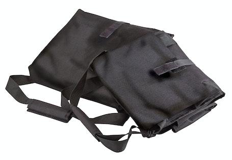 GBD121515110 Black Medium Folding Delivery Bag w Receipt