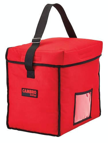 GBD13913521 Red Small Top Loading Delivery Bag