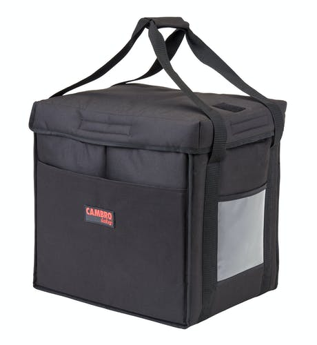 GBD121515110 Black Medium Folding Delivery Bag