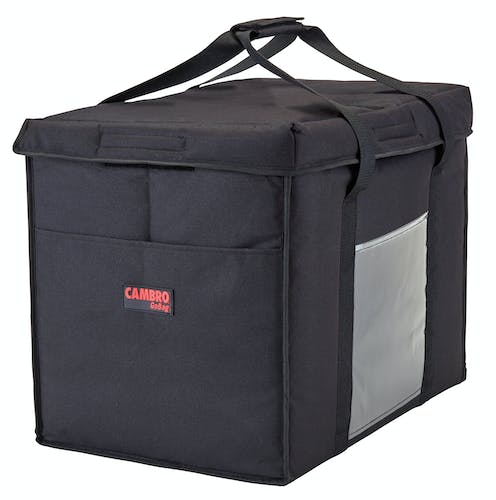 GBD211417110 Black Large Folding Delivery Bag