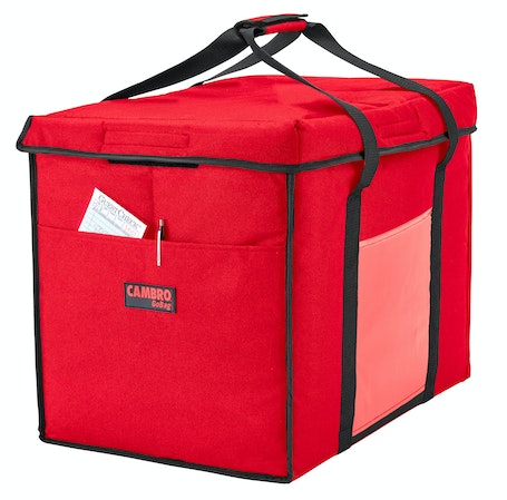 GBD211417521 Red Large Folding Delivery Bag w/ Receipt