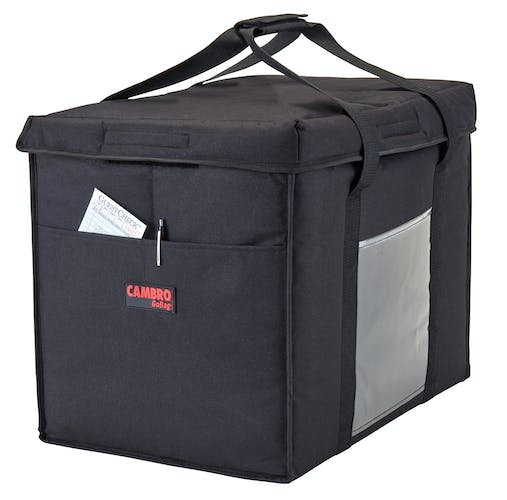 GBD211417110 Black Large Folding Delivery Bag w/ Receipt