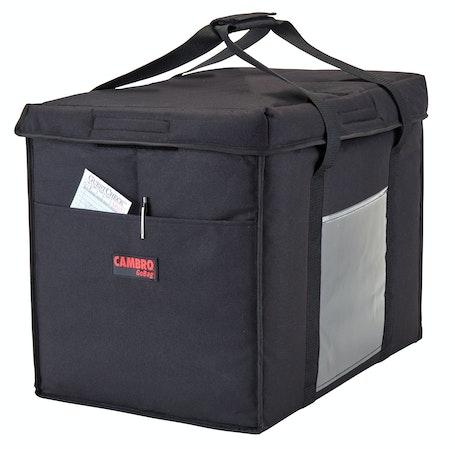 GBD211417110 Black Large Folding Delivery Bag w/ Receipt