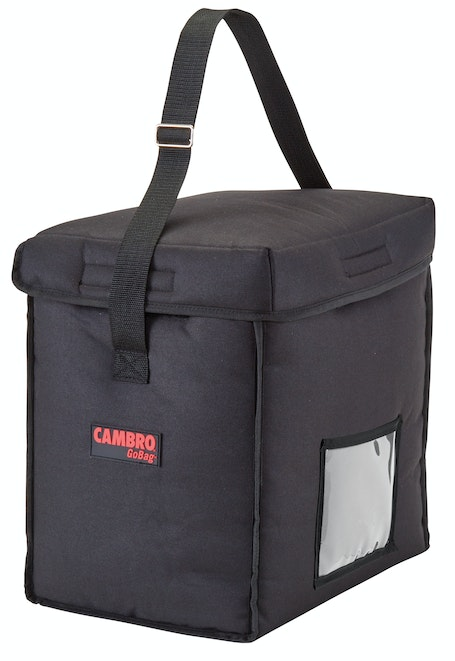 GBD13913110 Black Small Top Loading Delivery Bag
