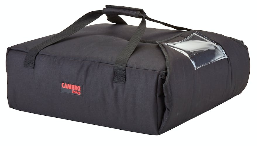 "GBPP216110 Black Pizza GoBag - 2 16"" Pizza Box Capacity"