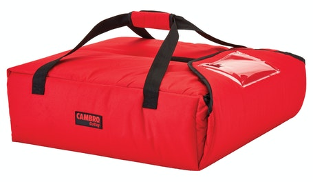 "GBPP318521 Red Pizza GoBag - 3 18"" Pizza Box Capacity"